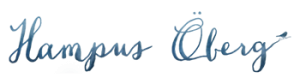 Hampus Oberg Photography Logo Small